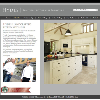 Bespoke fitted kitchens Norwich - handmade, handcrafted