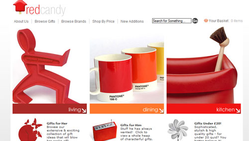 Click to view the Red Candy Website