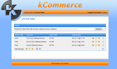 kCommerce eCommerce - New Sales