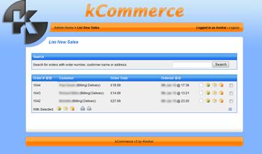 kCommerce eCommerce - New Sales