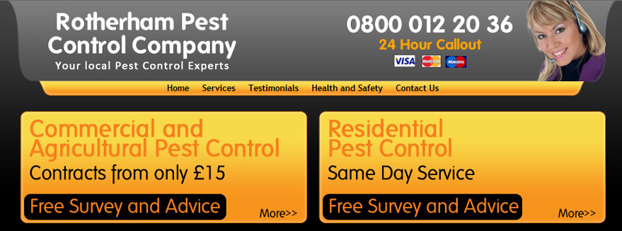 Rotherham Pest Control
