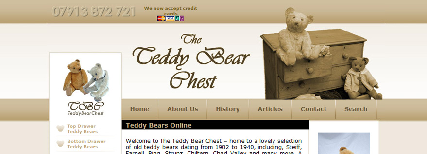 Teddy Bear Chest