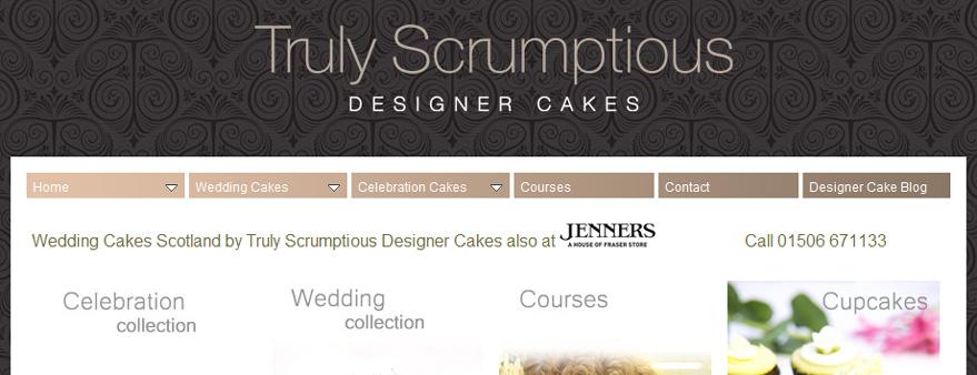 Truly Scrumptious - Designer Cakes