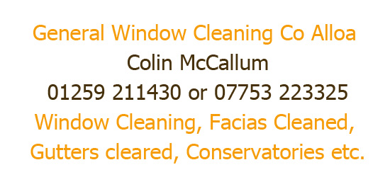 Window Cleaning Alloa